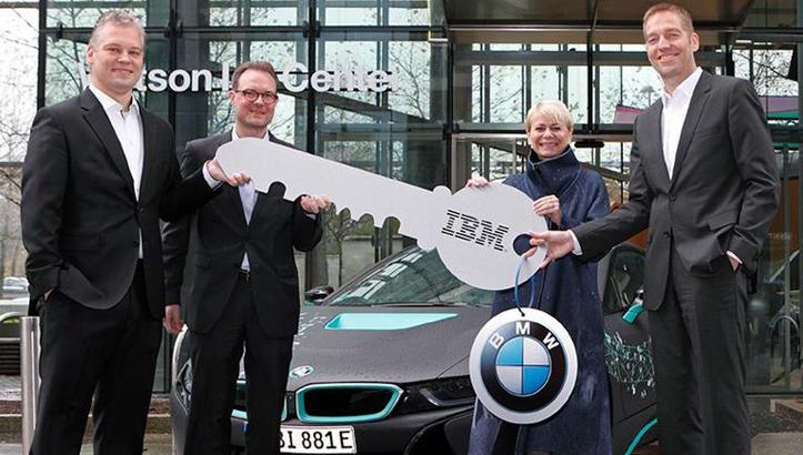 автомобили с искусственным интеллектом BMW