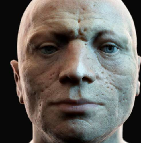 Robespierre: 3D Reconstructed Face of French Revolution 3