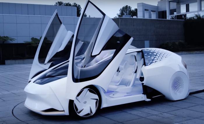 автомобили с искусственным интеллектом Toyota