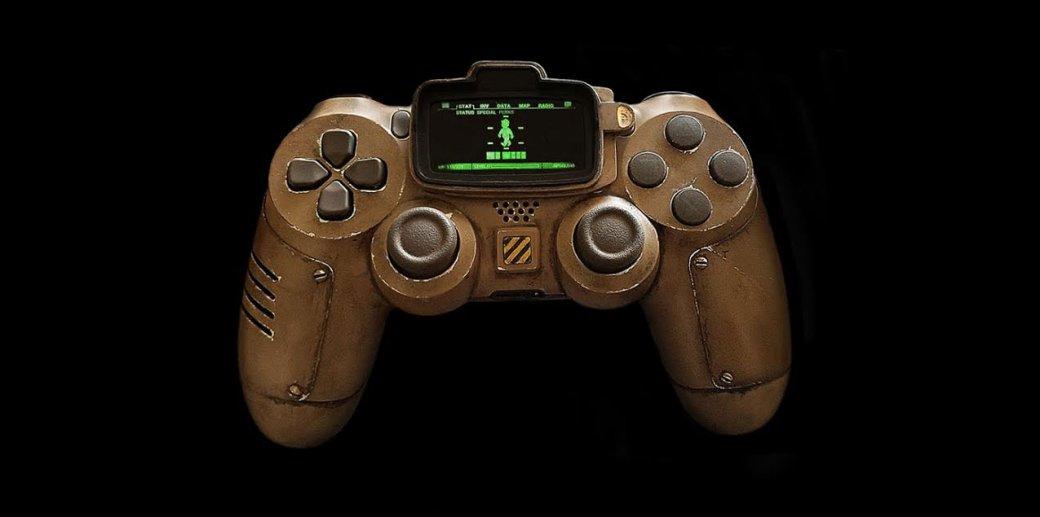 Wegame. Дизайнер создал впечатляющий контроллер в стиле Fallout
