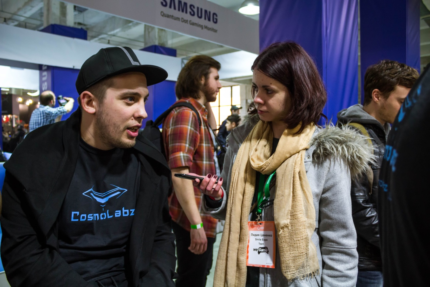 Interview with a director of COSMOLABZ, an exhibiting company at WEGAME 3.0
