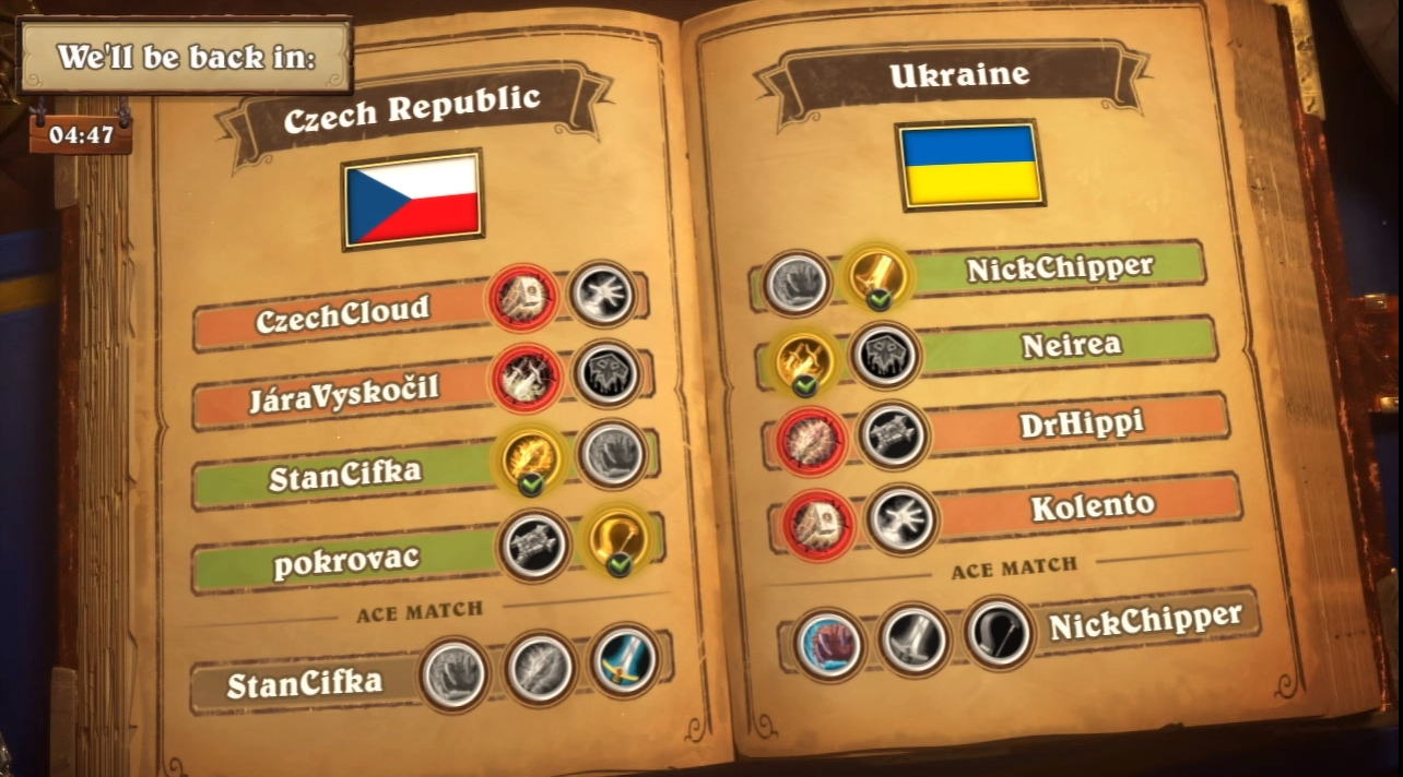 Ukrainian team at Hearthstone Global Games: overview  - 4