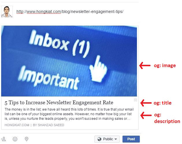 Create Facebook posts with high CTR  - 1