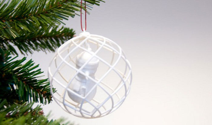 3DPI's 2013 Gallery of 3D Printed Christmas Ornaments 2