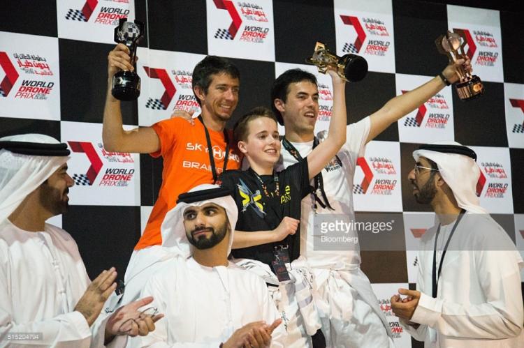 Победителем всемирной гонки дронов стал 15-летний юноша 2