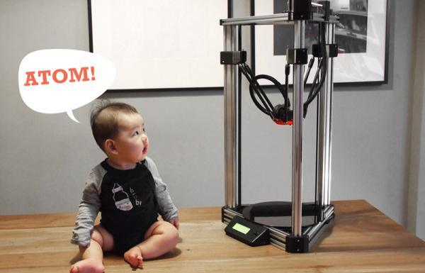 ALT Design launches new Atom ZecZec 3D printer 3