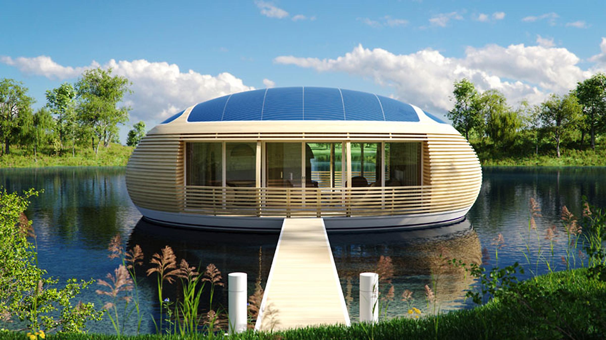 Энергоэффективный дом от компании EcoFloLife