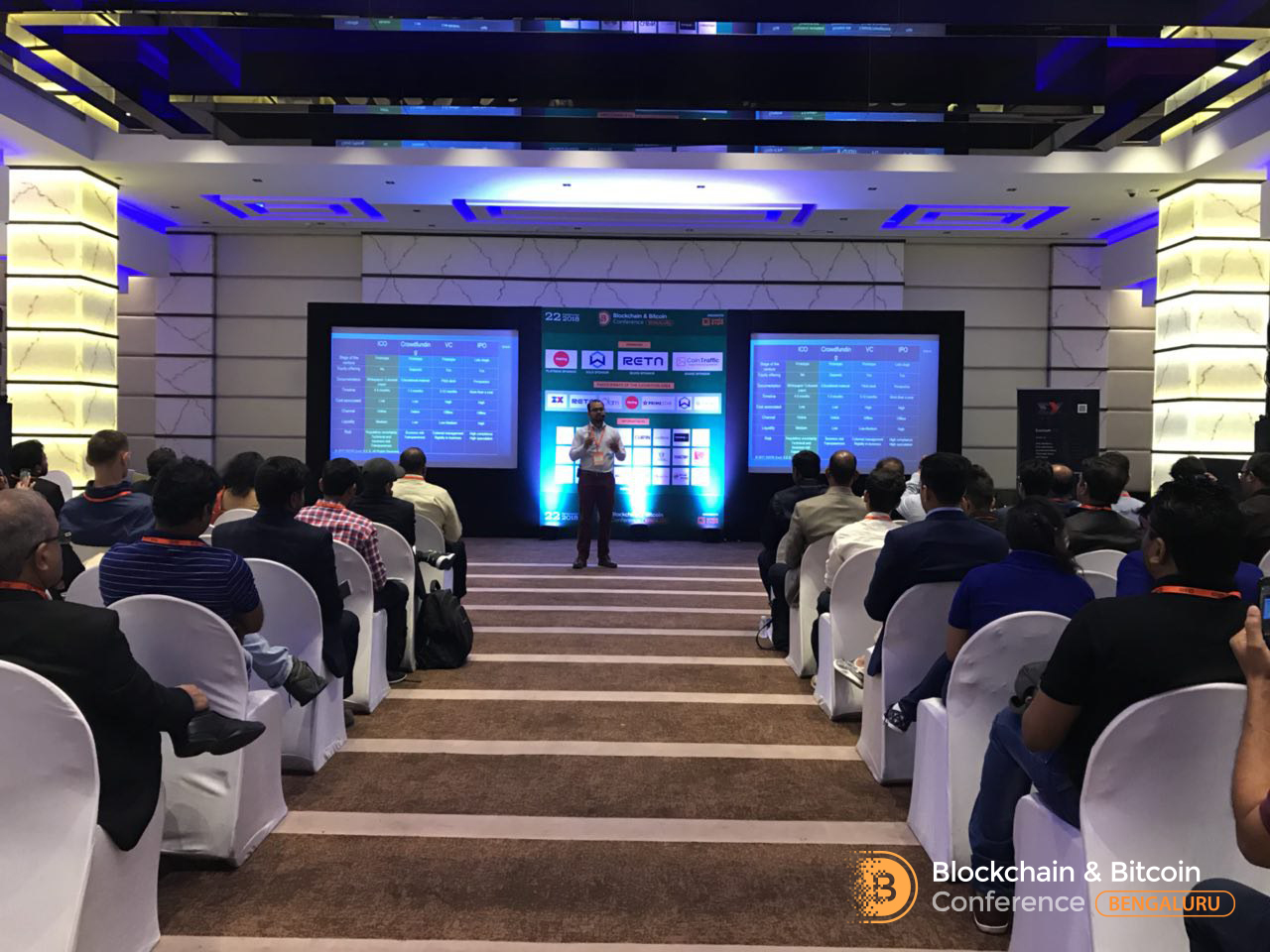 Blockchain & Bitcoin Conference Bengaluru discussed new laws in India that might touch ICO and blockchain - 2