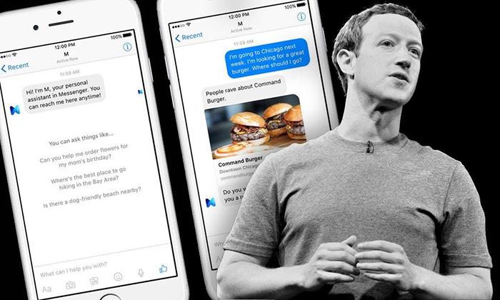 Facebook Messenger станет «социальной гостиной», а чат-бот М – цифровым дворецким