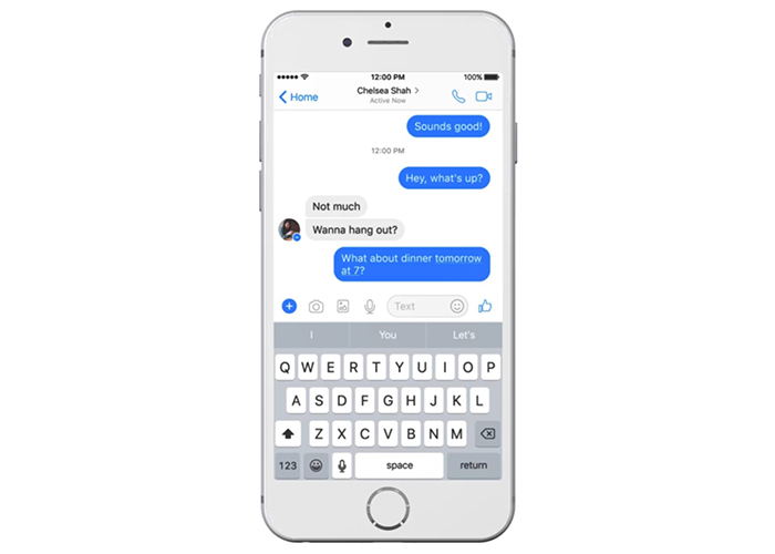 Facebook Messenger's smart chatbot offers users its help (2)