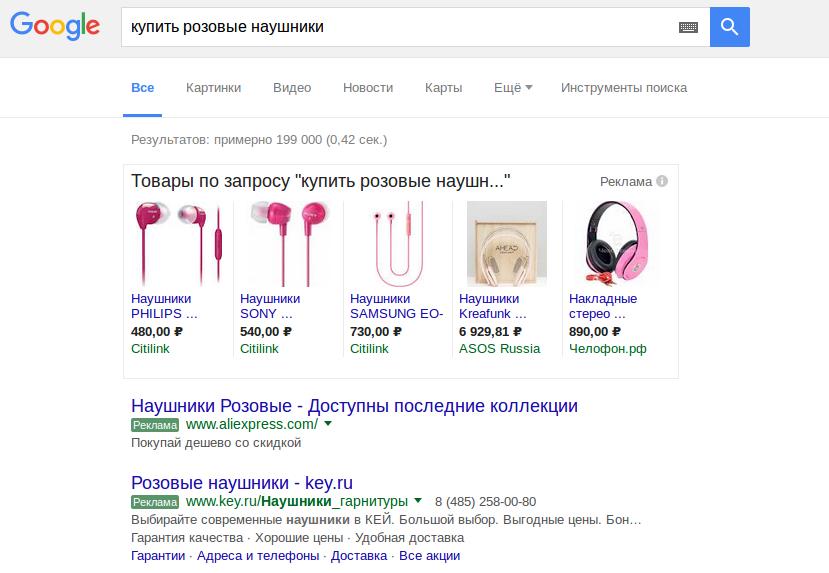 Поисковая контекстная реклама