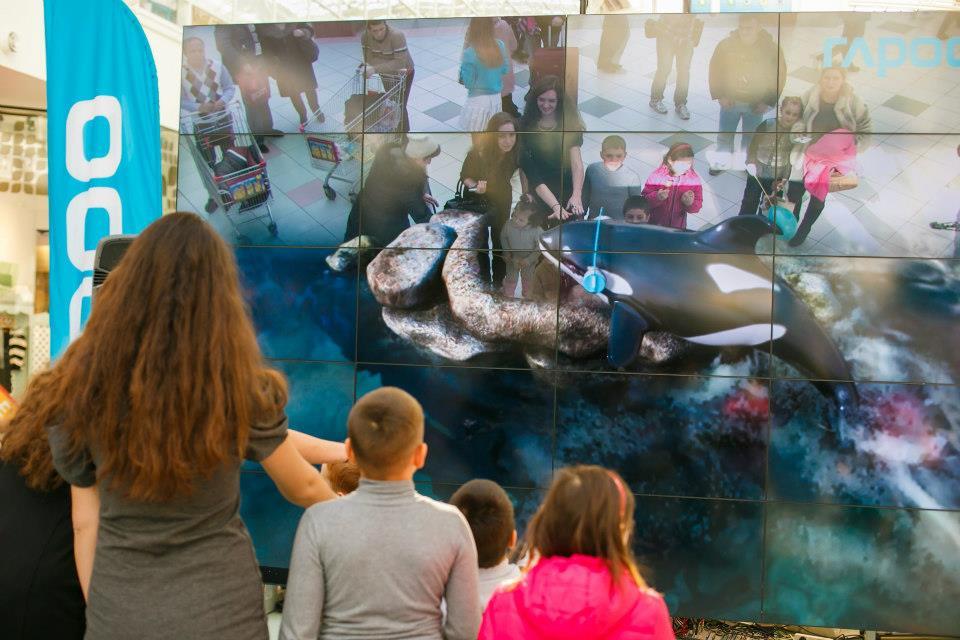 основные направления в применении AR-технологии в развлечениях: ТРЦ, музеи, аквапарки и т.д.