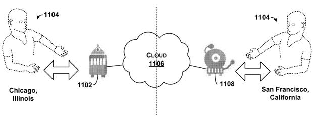 Система хранения полезных данных в облаке