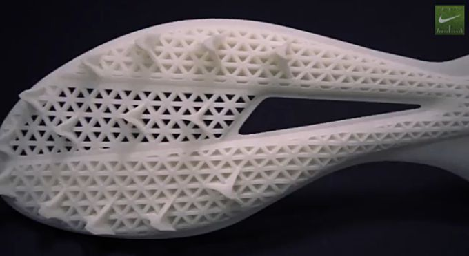 Get faster for football: Nike unveils new 3D printed Super Bowl cleat 2