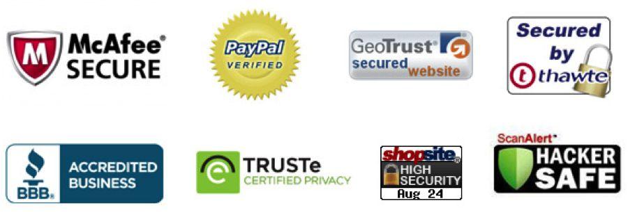 Сертификаты безопасности покупок через интернет