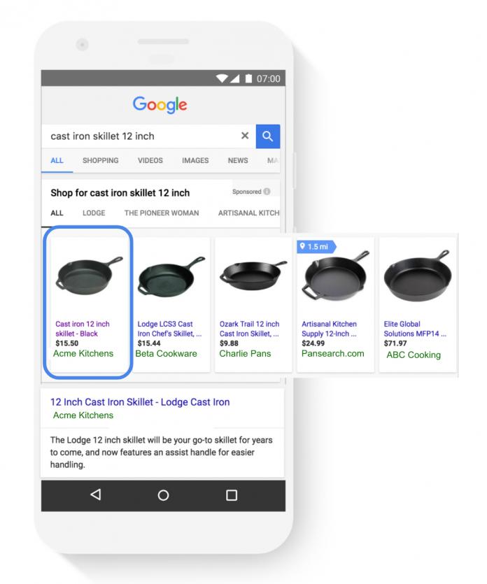 Google AdWord, RACE, RACE 2017, нововведения для торговых рекламных кампаний