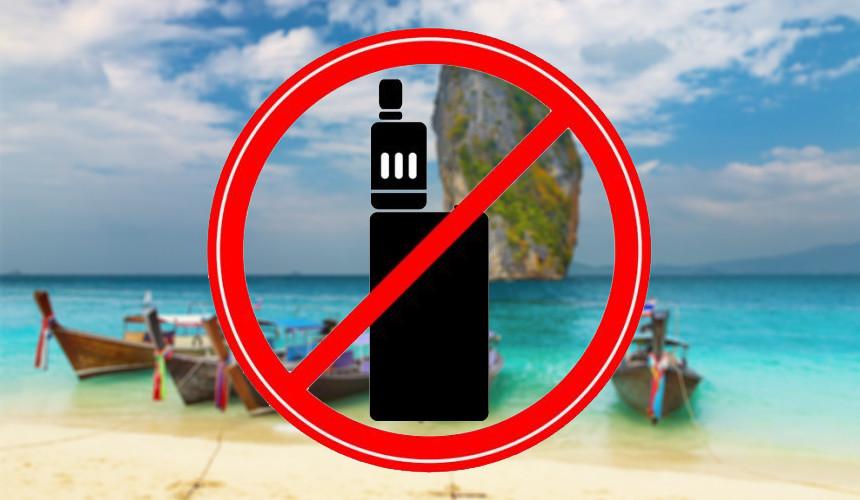Запрет на вейпинг в Тайланде