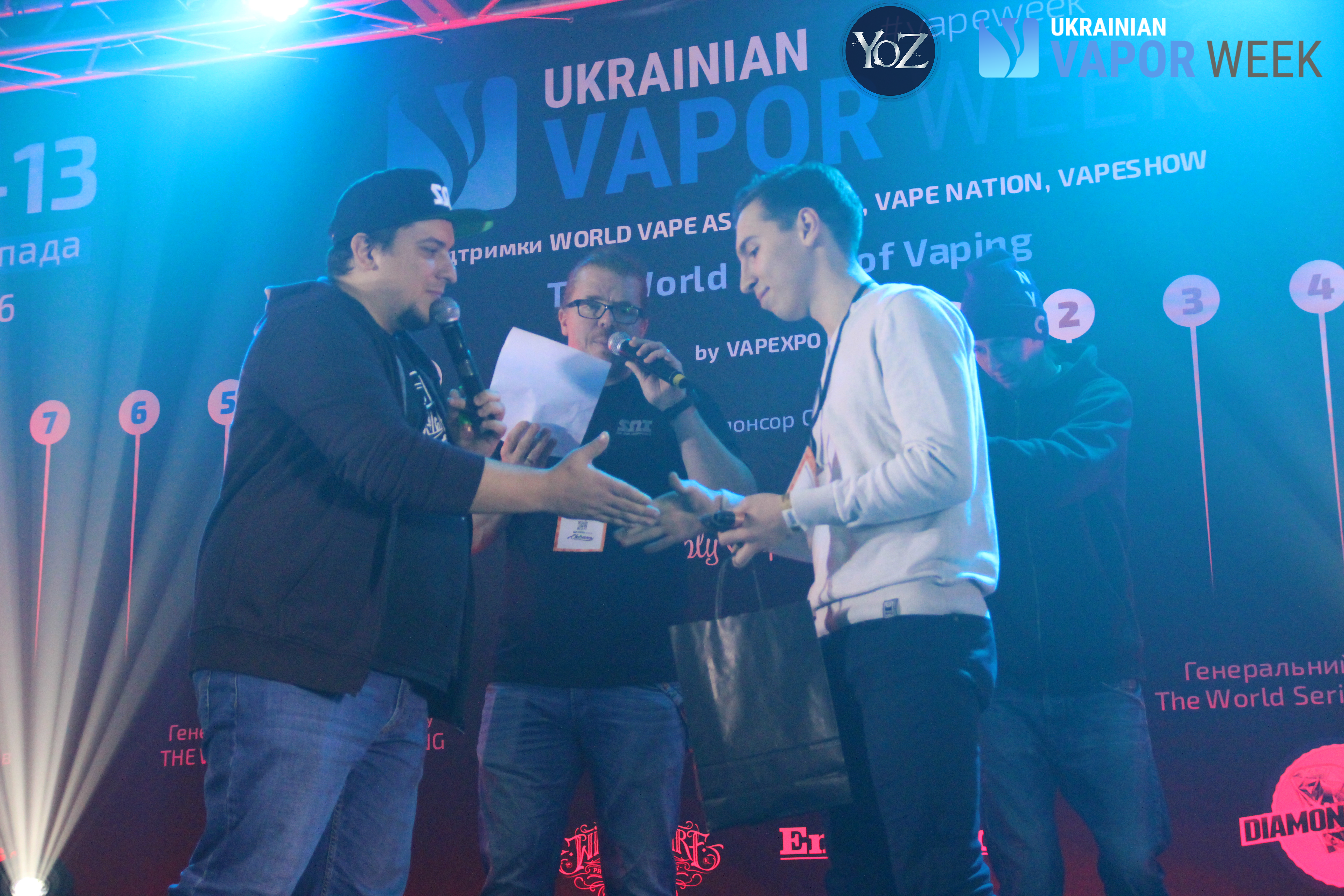 Ukrainian vapor week