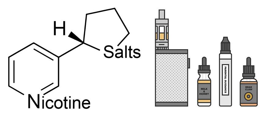 устройства для солевого никотина