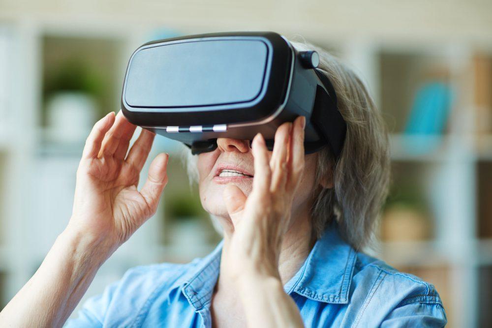 Лечение деменции с помощью виртуальной реальности