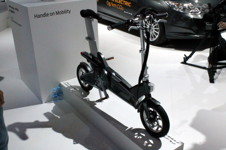 Экспериментальные электронные велосипеды компании Ford - 2
