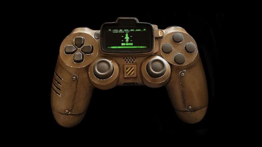 WEGAME. Дизайнер створив вражаючий контролер у стилі Fallout