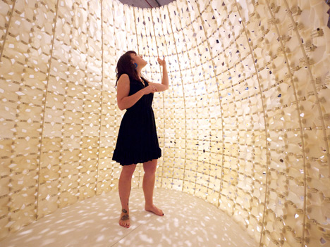 Pavilion made of 3D-printed salt by Emerging Objects 1