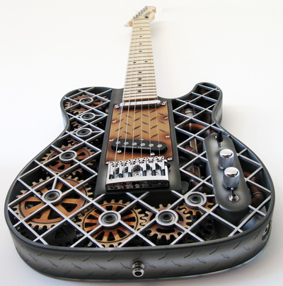 3D Printed Guitars by Olaf Diegel 1
