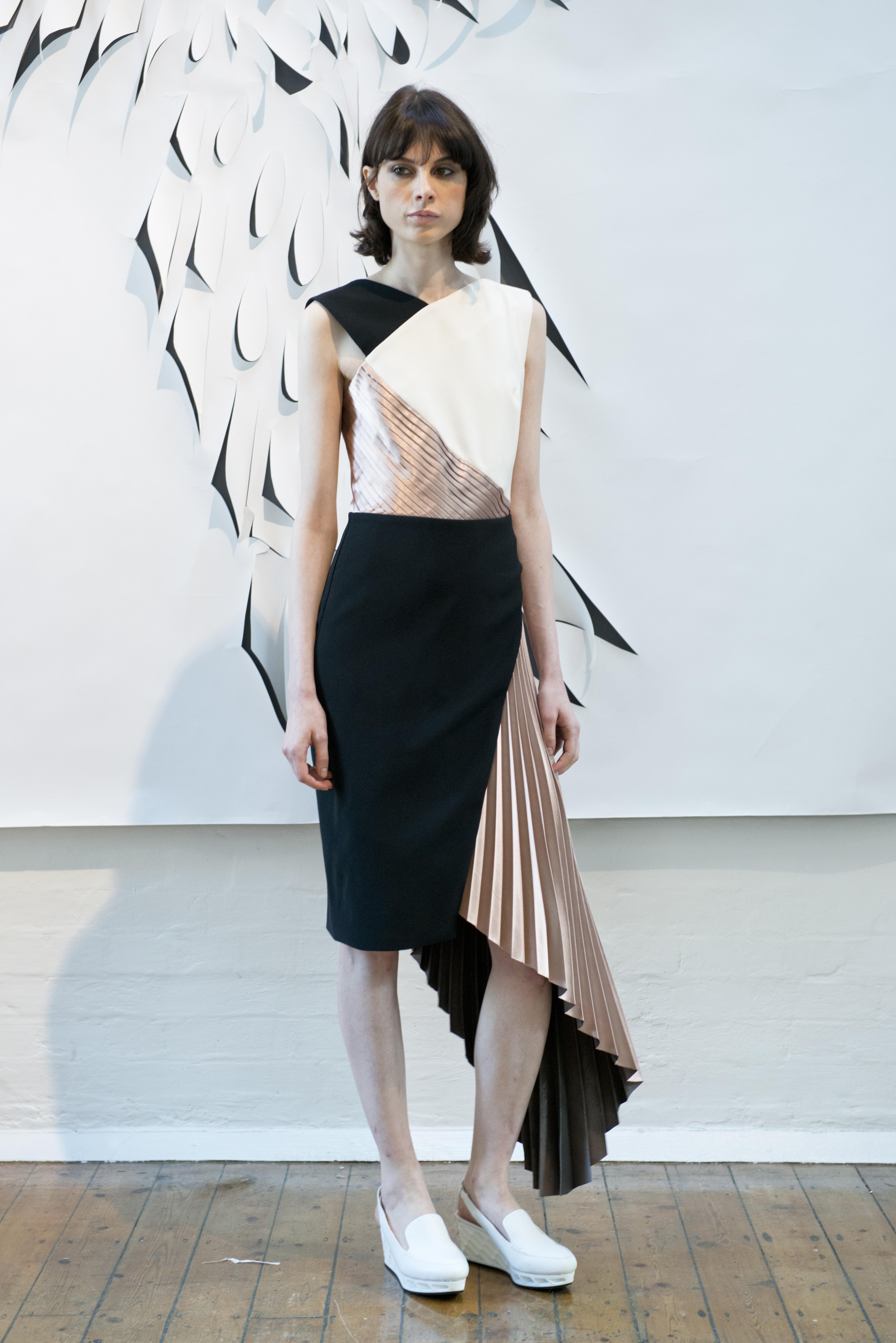 Models at london fashion week 64