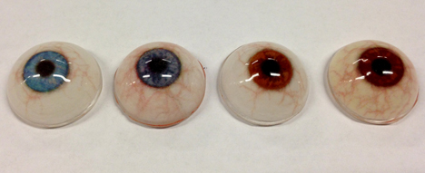 "3D printing ""can produce up to 150 prosthetic eyes per hour"" 3"
