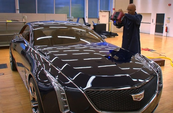 Cadillac Elmiraj concept created in less than a week using 3D scanning 1