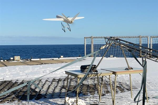 Королевский флот провел в Антарктиде успешные испытания созданного на 3D-принтере дрона - 1