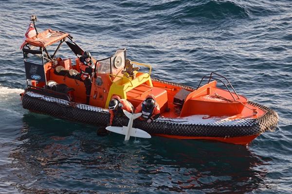 Королевский флот провел в Антарктиде успешные испытания созданного на 3D-принтере дрона - 3