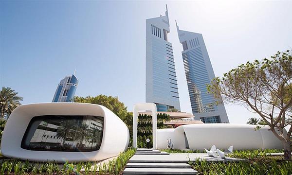 В Дубае построили первое в мире 3D-печатное здание - 1