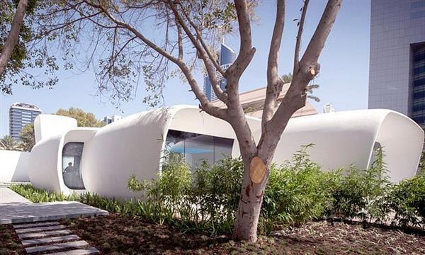 В Дубае построили первое в мире 3D-печатное здание - 2