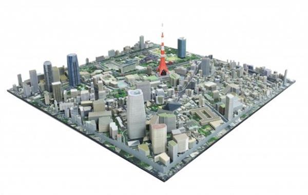 Японская компания iJet предлагает диковинку: невероятные 3D-печатные диорамы - 2