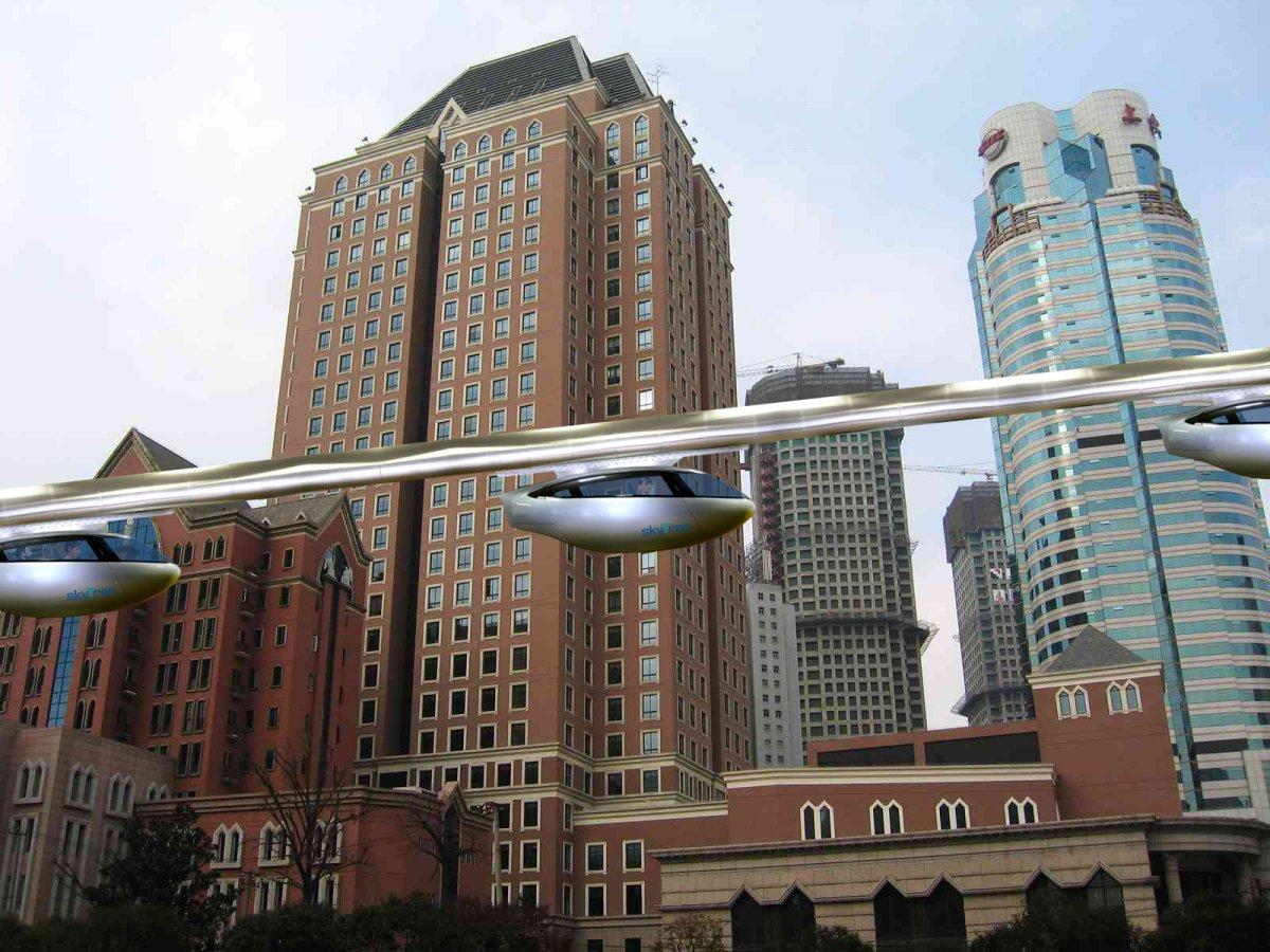 SkyTran построит в Нигерии систему самоходных капсул - 1