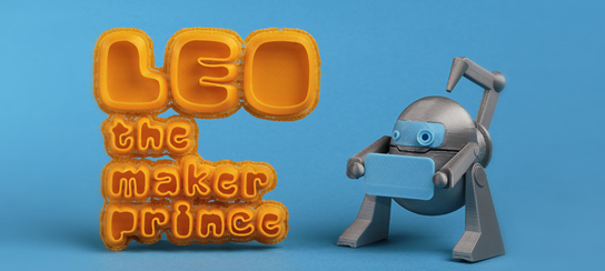 First children's book about 3D printing 1