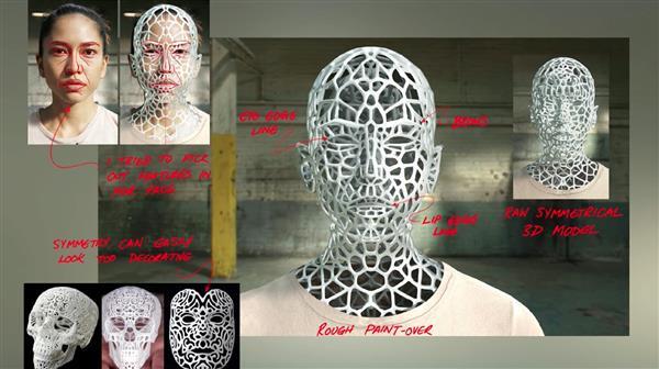 секреты создания 3D-печатной танцовщицы из клипа Chemical Brothers - 6