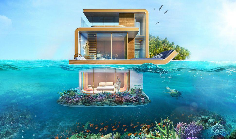 Виллы на побережье в оаэ дома и квартиры в испании недорого