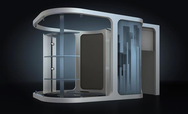 Российский стартап выпустил 3D-кабину, сканирующую до 40 человек в час - 2