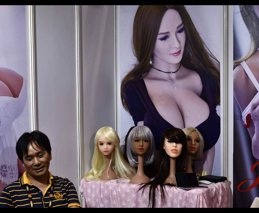 Robotics Expo: Sex robots: 2017 novices  - 2