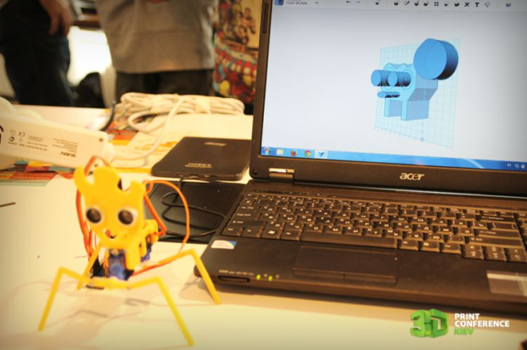 3D printing for kids: 3D+Robo Kids master class  - 3